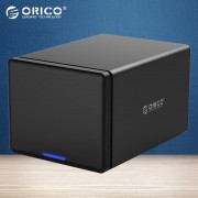 ORICO NS500C3-BK 5 Bay Type-C Hard Drive Dock Station for 3.5'' HDD Tool Free - US Plug