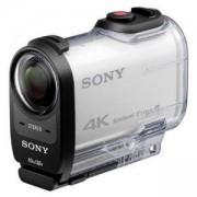 Цифрова видеокамера, Sony FDR-X1000VR 4K Action CAM, Body (Бял) + Live-View Remote Kit + Sony CP-V3 Portable power supply 3000mAh, Бял, FDRX1000VR.CEN
