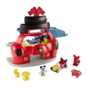 Mattel Fisher Price - Mickey Mouse - Garaje Mickey y Los Superpilotos