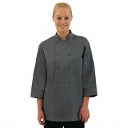 Chef Works unisex koksbuis grijs XXL - XXL