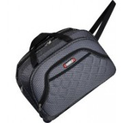 TORRENTO (Expandable) STYLISH TRAVELLING IN BEST QUALITY FABRIC TWO WHEEL DUUFEL BAG 22 INCH Travel Duffel Bag(Grey)
