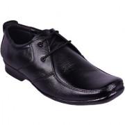 Somugi Genuine Leather Black Formal Lace up Shoes