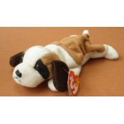 TY Beanie Babies Bernie the St. Bernard Dog Plush Toy Stuffed Animal