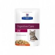 Hill S Prescription diet i/d Digestive care feline gusto pollo 12 bustine da 85 g