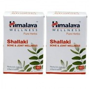 Himalaya Shallaki (Pack of 2) - Bone Joint Wellness - 60 tabs each