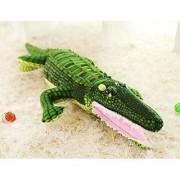XICHEN 39 Lifesize Green Adorable crocodile Soft Plush Toys Large Stuffed Animals