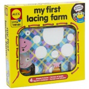 ALEX Toys Little Hands My First Lacing Farm