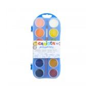 Acuarele Carioca 12 culori cu pensula SKP018