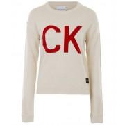 Calvin Klein Ck logo sweater