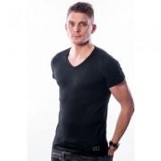 Ten Cate Men T-Shirt V-Neck Black Two Pack ( 30217)