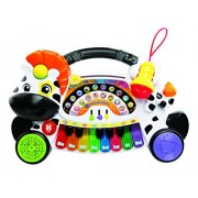VTech Baby – Remi The Zebra Marchosa Learn, Piano Learn Music, Notes and Instruments with Interactive Keyboard, Different Functions Activities Musical 3480 – 179122