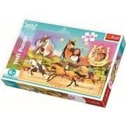 Puzzle clasic copii - Trei Prieteni Spirit Riding Free 160 piese
