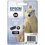 Epson 26 Original Ink Cartridge C13T26114012 Photo Black