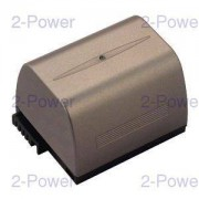 2-Power Videokamera Batteri Canon 7.4v 3000mAh (BP-422)