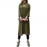 Vestido De Playa Estrella Tienda Ejercito Verde