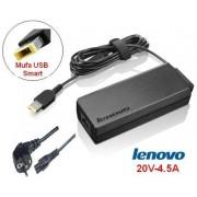 Incarcator Laptop Lenovo MMDLENOVO708, 20V, 4.5A, 90W, pentru IdeaPad Z510
