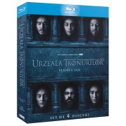 Game of Thrones-Season 6:Emilia Clarke, Peter Dinklage, Kit Harington - Urzeala tronurilor - Sezonul 6 (4 Blu ray)