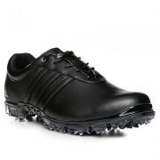 Adidas Golf Schuhe Herren, Glattleder, schwarz