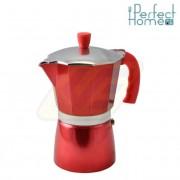 Perfect home 10062 Kávéfőző piros 6 személyes