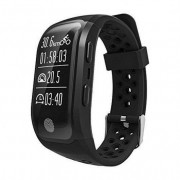 LEOTEC Smartband Leotec GPS Training Band Negro