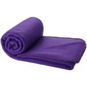 Geen Fleece deken paars 150 x 120 cm