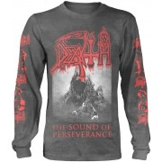 Death The Sound Of Perseverance Black Long Sleeve Shirt XL