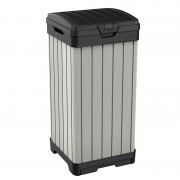 Cos pentru gunoi gri Keter Rockford 125 L