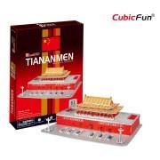 Cubicfun Monumentul Tian An Men Beijing Puzzle 3D 61 de piese