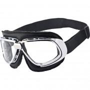 Nexo Sonnen-Brille Nexo Motorradbrille mit Motorradbrillenband 1.0 klar klar