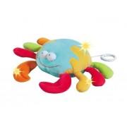 Jucarie muzicala cu led Crab Brevi Soft Toys