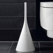 Ecoplast Srl WC-Bürste, Kegel, Weiss inklusive Ersatzbürste