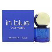 Courreges in blue eau de parfum 30 ml spray profumo donna