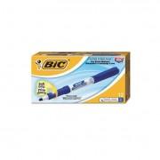 Great Erase Grip Fine Point Dry Erase Marker, Blue, Dozen