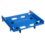 Adaptor Sharkoon de la 5.25 inch la 3.5/2.5 inch HDD/SSD, culoare albastra