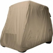 Classic Accessories Fairway Golf Cart Cover - Light Khaki (Green), Long Roof, Model 40-039-345801-00