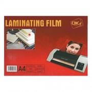 Lamináló fólia A/4 80 mic. 100 lap/csomag
