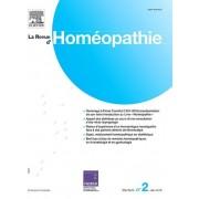 [GROUPE] ELSEVIER MASSON La Revue D'Homeopathie