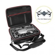 DJI Mavic Pro Drone Safe Carrying Case, EVA Hard Portable Bag Shoulder Handheld Carry Case | Splash-proof | Durable | Compact