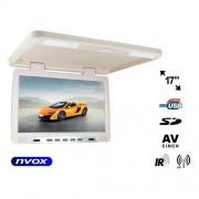 "NVOX RF1790U BE Monitor podwieszany podsufitowy LCD 17"" cali LED IR FM USB SD"