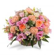 Interflora Centro romántico - Borgoña - Flores a Domicilio