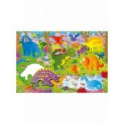 Giant Floor Puzzle Dinozauri 30 piese