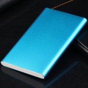 ER Portable Size Super Thin 10400MAH External Power Bank Mobile Phone Battery Power Supply Charger For Smart Phones-blue