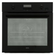 AEG BPE552220B Single Built In Electric Oven - Black