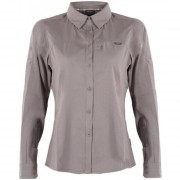 Camisa Rosselot Q-Dry Shirt L/S Melange Gris Lippi