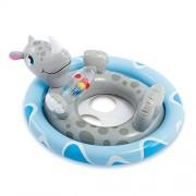 Intex See Me Sit Pool Rhino Inflatable Pool Accessory (Grey)