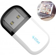 EZC-5200BS USB WiFi Wireless Adapter 2.4G & 5G Dual Band Bluetooth 4.2 + Dirver-free - White
