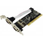 Adaptor placa PCI la 2 x serial Logilink PC0016