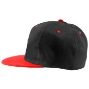 Black Plain Cotton Caps 54 A