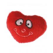 Röd Kylskåpsmagnet med Plysch hjärta - Hypnotized
