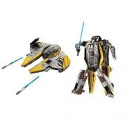 STAR WARS Transformers Anakin Skywalker / Jedi Starfighter